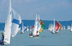Balaton - yachting