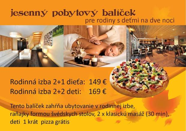 Discount - Slovakia - VIA Jasná Apartments - Great Autumn Package for You