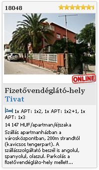 Limba.com - Tivat, Fizetvendglt-hely, Szlls 18048