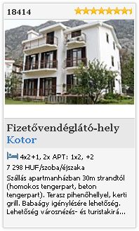 Limba.com - Kotor, Fizetvendglt-hely, Szlls 18414