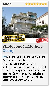 Limba.com - Ulcinj, Fizetvendglt-hely, Szlls 20956