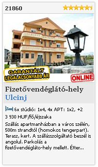 Limba.com - Ulcinj, Fizetvendglt-hely, Szlls 21860