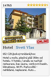 Limba.com - Sveti Vlas, Hotel, Ubytování 14765