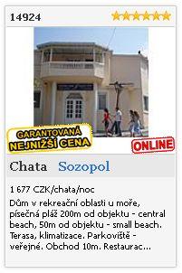 Limba.com - Sozopol, Chata, Ubytování 14924
