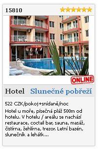 Limba.com - Slunečné pobřeží, Hotel, Ubytování 15810