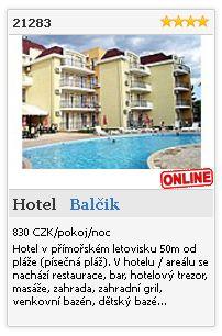 Limba.com - Balčik, Hotel, Ubytování 21283