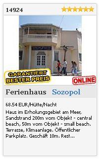 Limba.com - Sozopol, Ferienhaus, Unterkunft 14924