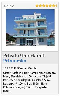 Limba.com - Primorsko, Private Unterkunft, Unterkunft 15952
