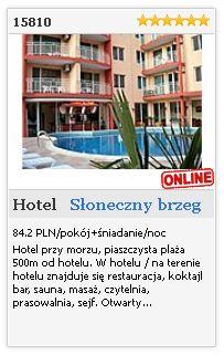 Limba.com - Słoneczny brzeg, Hotel, Noclegi 15810