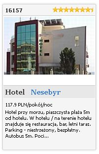 Limba.com - Nesebyr, Hotel, Noclegi 16157