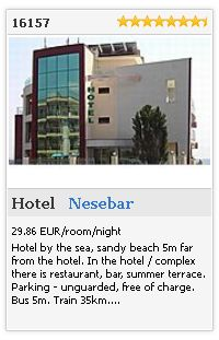 Limba.com - Nesebar, Hotel, Accommodation 16157