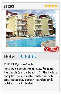 Limba.com - Balchik, Hotel, Accommodation 21283