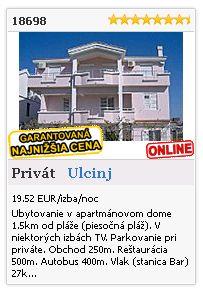 Limba.com - Ulcinj, Privát, Ubytovanie 18698