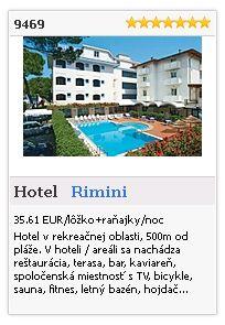 Limba.com - Rimini, Hotel, Ubytovanie 9469