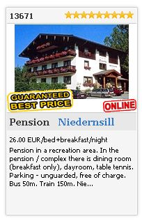 Limba.com - Niedernsill, Pension, Accommodation 13671