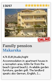 Limba.com - Makarska, Family pension, Accommodation 15697