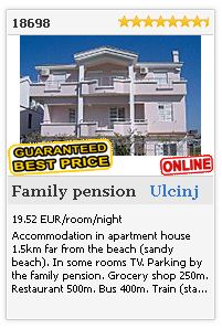 Limba.com - Ulcinj, Family pension, Accommodation 18698