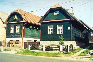 Slowakei Chata Štrba, Tschirm, Exterieur