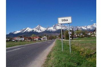 Slovensko Chata Štôla, Exteriér