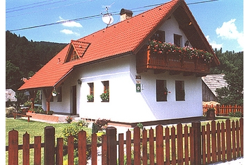 Slowakei Chata Fačkov, Exterieur