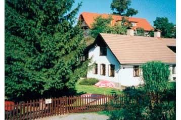 Česko Chata Svinná, Exteriér