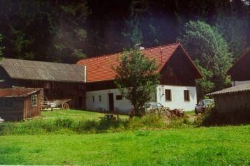 Česko Chata Rovná, Exteriér
