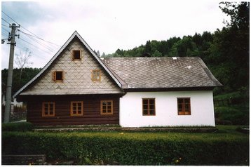 Česko Chata Jindřichov, Exteriér