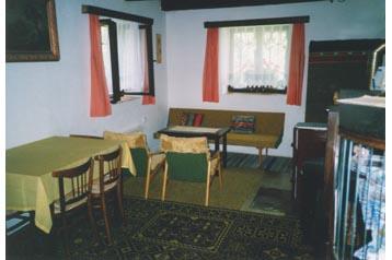 Česko Chata Javorná, Interiér