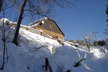 Slowakei Chata Klokočov, Exterieur