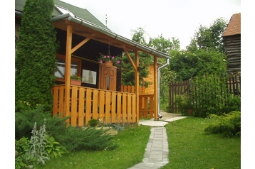Slovacia Chata Jakubovany, Exteriorul