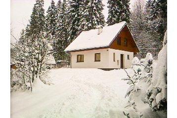 Slovacia Chata Čingov, Exteriorul