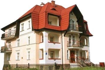 Polsko Penzión Kudowa-Zdrój, Exteriér