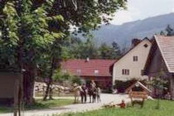 Rakousko Privát Hollenstein, Exteriér