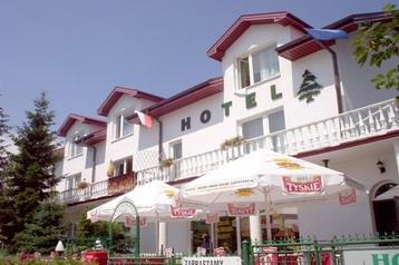 Lenkija Hotel Busko-Zdrój, Eksterjeras