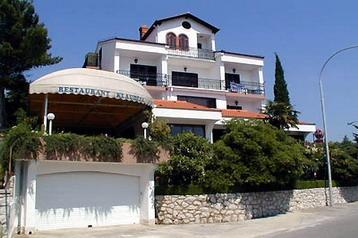 Chorvátsko Penzión Crikvenica, Exteriér