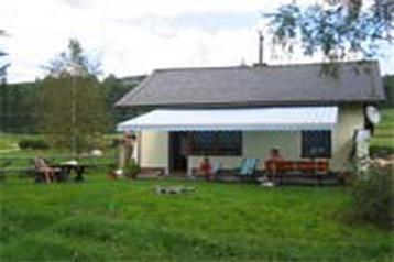 Rakousko Chata Mühlen, Exteriér