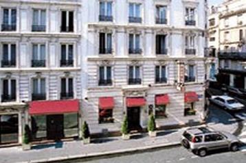 Franţa Hotel Paris, Exteriorul