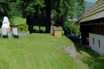 Rakousko Chata Fresach, Exteriér