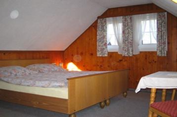 Rakousko Chata Gosau, Interiér