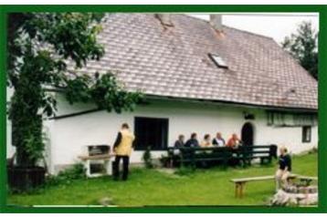 Rakousko Chata Vorderstoder, Exteriér