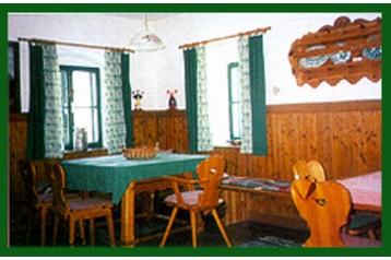 Rakousko Chata Vorderstoder, Interiér