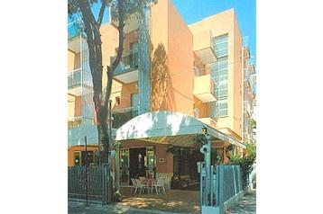 Taliansko Hotel Rimini, Exteriér