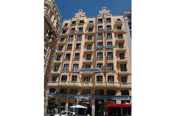 Hiszpania Hotel Madrid, Madryt, Zewnątrz