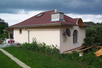Česko Chata Zdíkovec, Exteriér