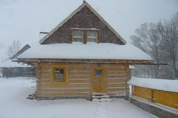 Slowakei Chata Osturňa, Exterieur