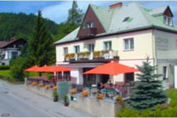 Rakousko Penzión Semmering, Exteriér