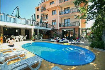Bulharsko Hotel Černomorec, Černomorec, Exteriér