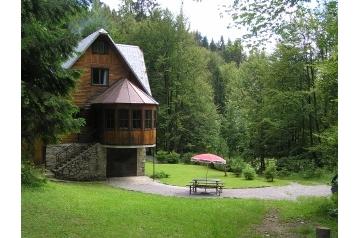 Slowakei Chata Klubina, Exterieur