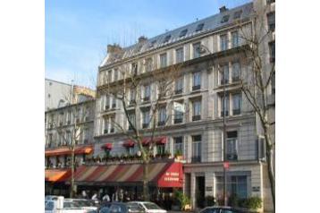 Francja Hotel Paryż / Paris, Zewnątrz