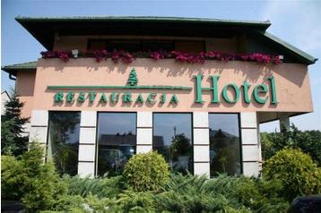 Polsko Hotel Sąspów, Exteriér
